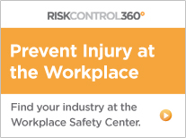 Prevent Injury at the workplace